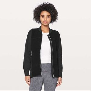 Lululemon Black Stand Out Sherpa Jacket